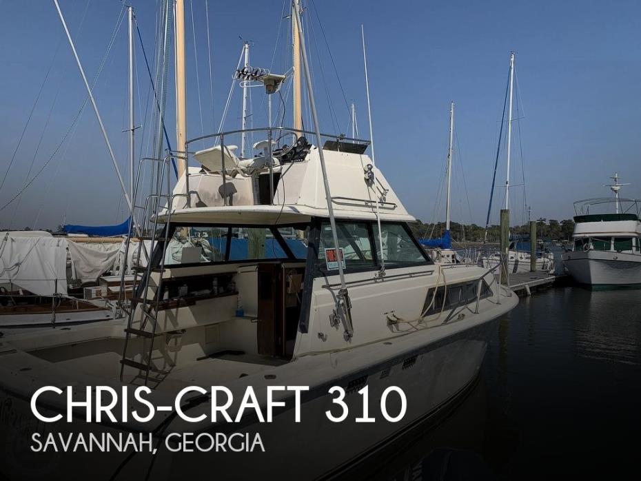 1981 Chris-Craft CATALINA 310 EXPRESS
