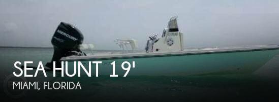 2007 Sea Hunt 19 Navigator