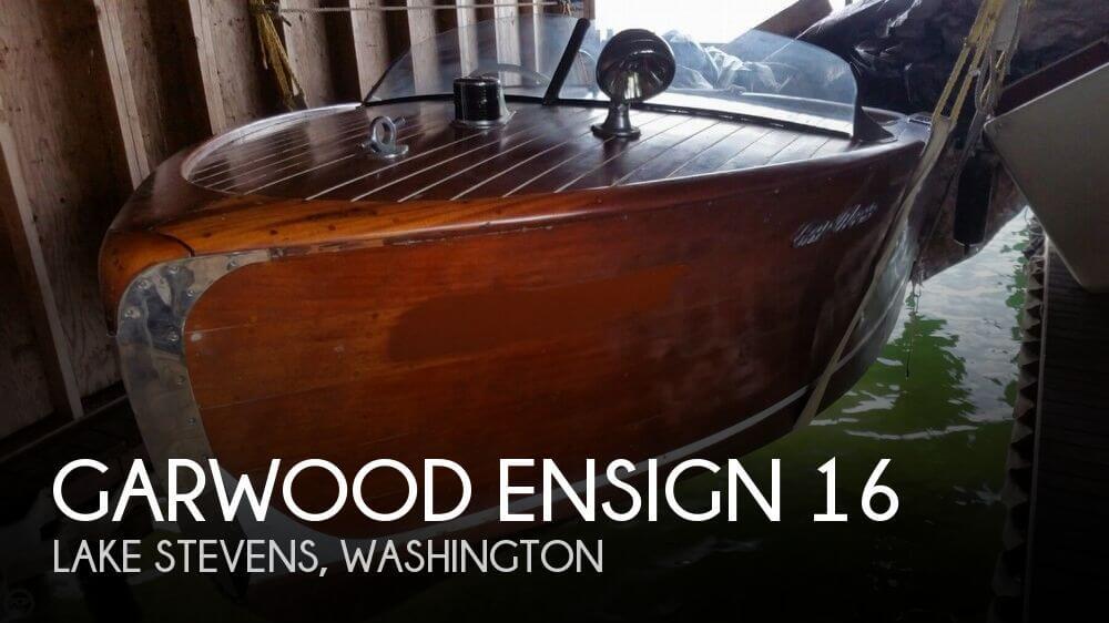 1946 Garwood Ensign 16