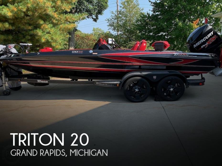 2017 Triton 20 TRX Anniversary Edition