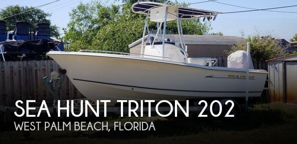 2006 Sea Hunt Triton 202