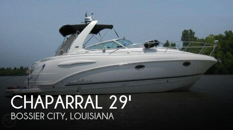 2004 Chaparral 290 Signature Express Cruiser