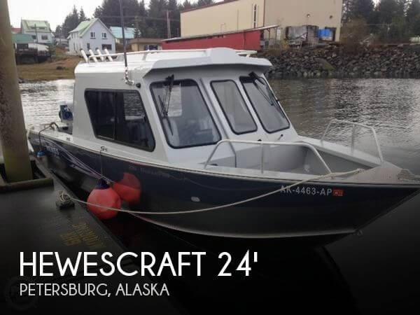 2014 Hewescraft 220 Ocean Pro
