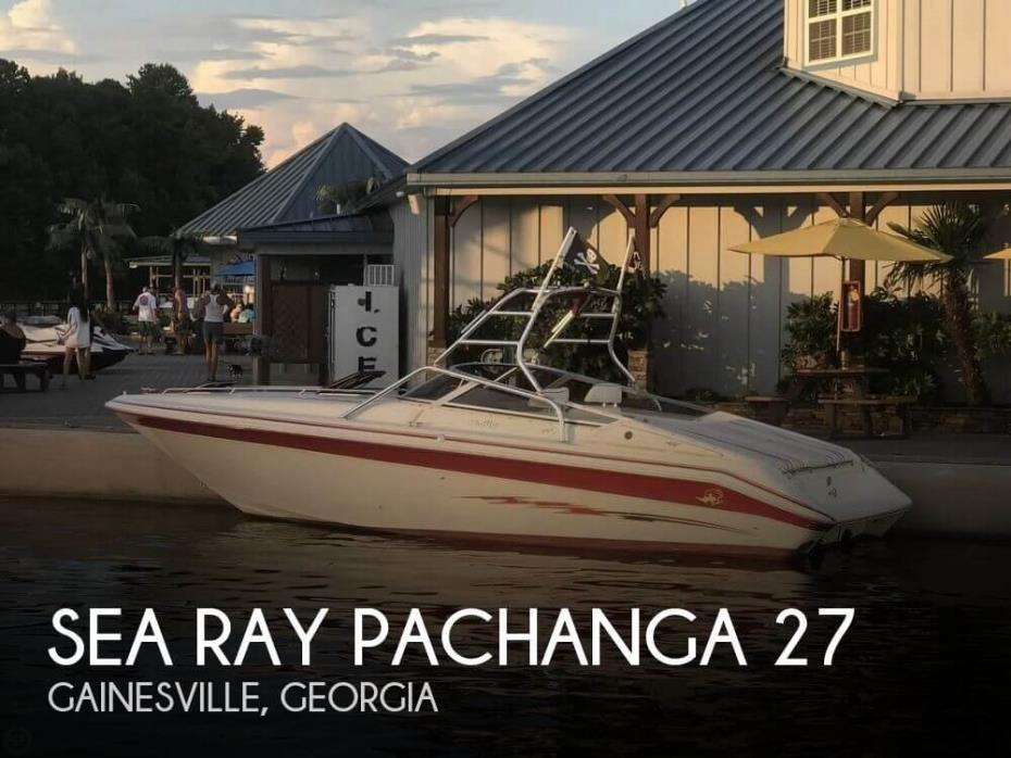 1989 Sea Ray Pachanga 27