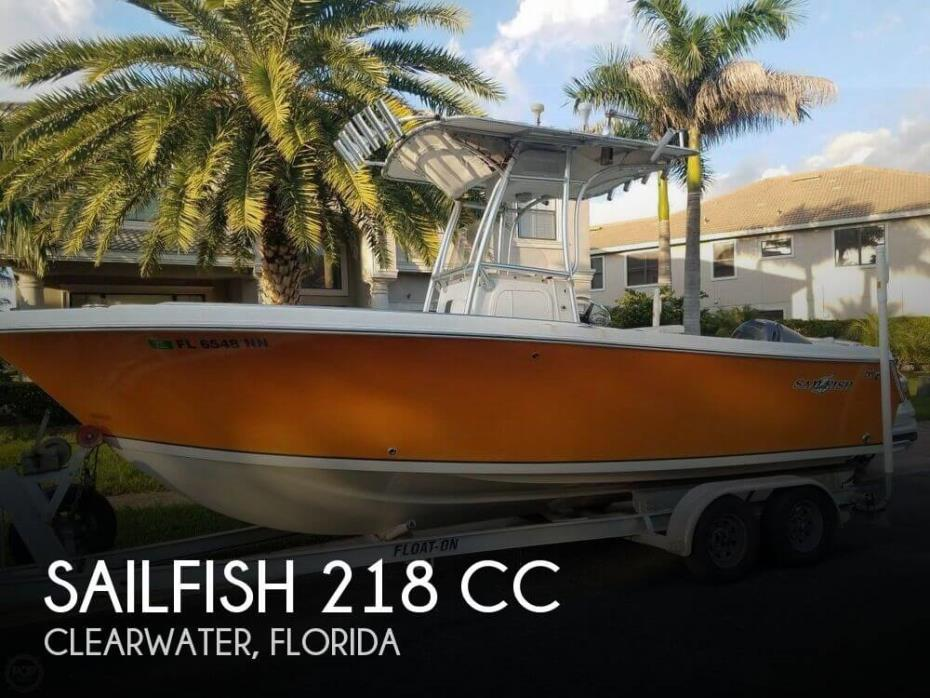 2007 Sailfish 218 CC