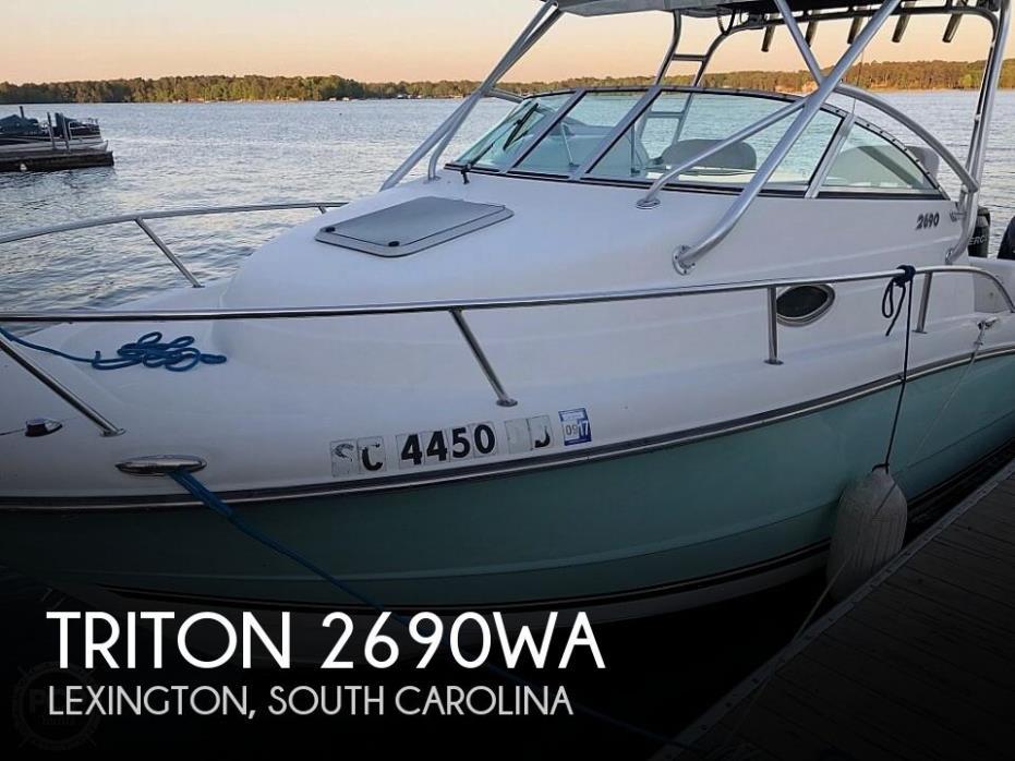 2006 Triton 2690WA