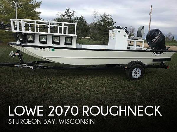 2014 Lowe 2070 Roughneck