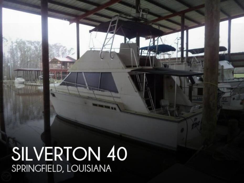 1989 Silverton 40