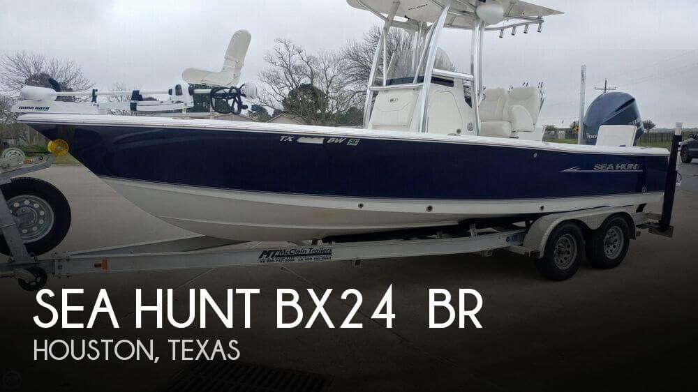 2013 Sea Hunt BX24 BR