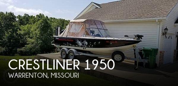 2013 Crestliner 1950 Sportfish SST