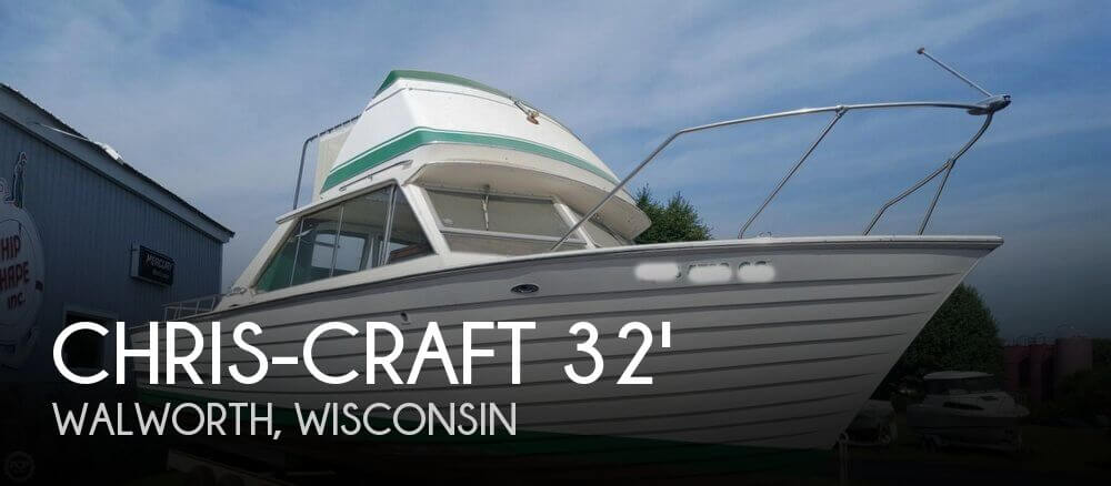 1967 Chris-Craft Sea Skiff 32 Sports Cruiser
