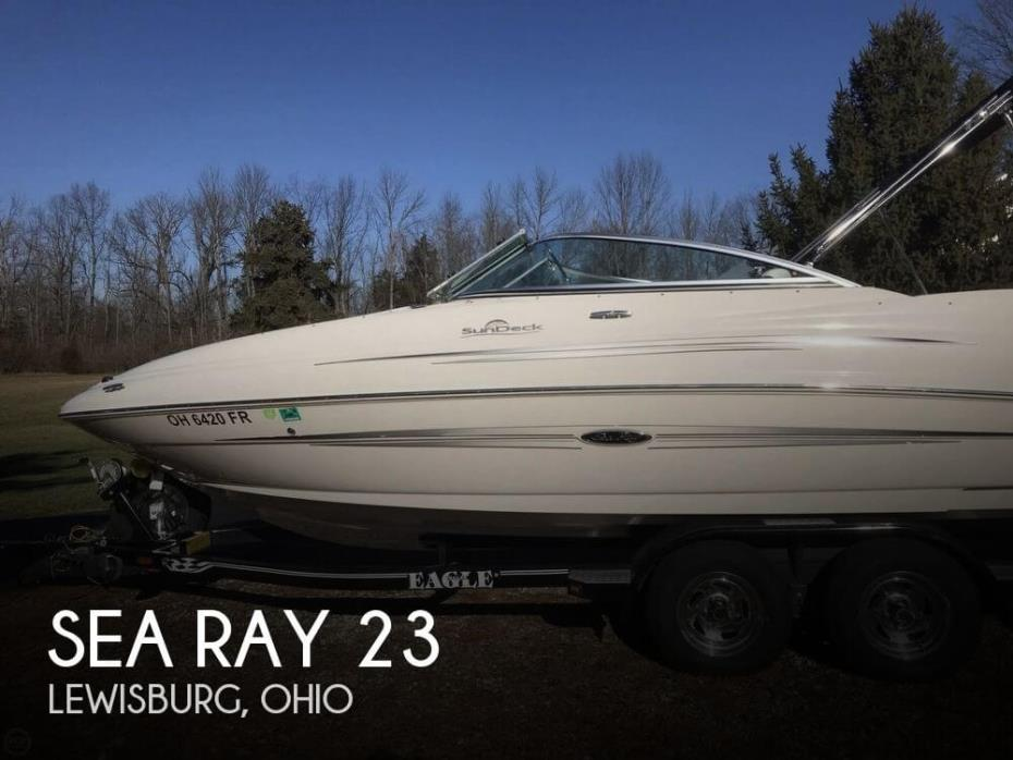 2008 Sea Ray 220 SD
