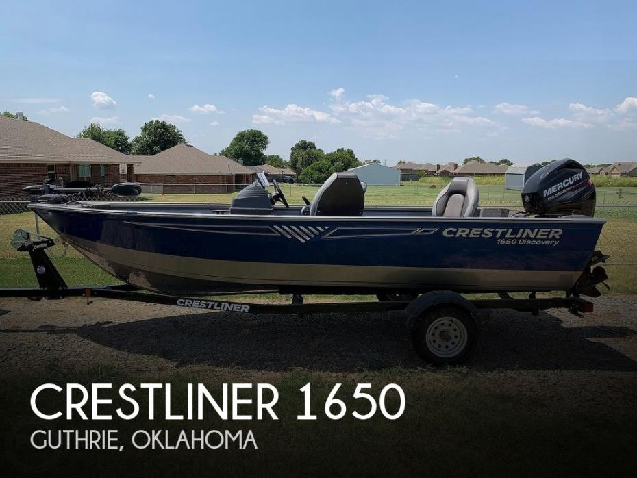 2017 Crestliner 1650 Discovery