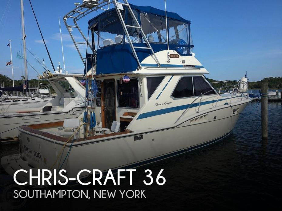 1986 Chris-Craft 36