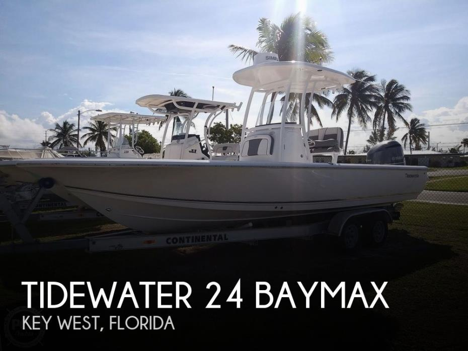 2019 Tidewater 24 BayMax