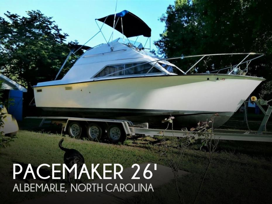 1978 Pacemaker Concept Sports Fisherman 26 FB