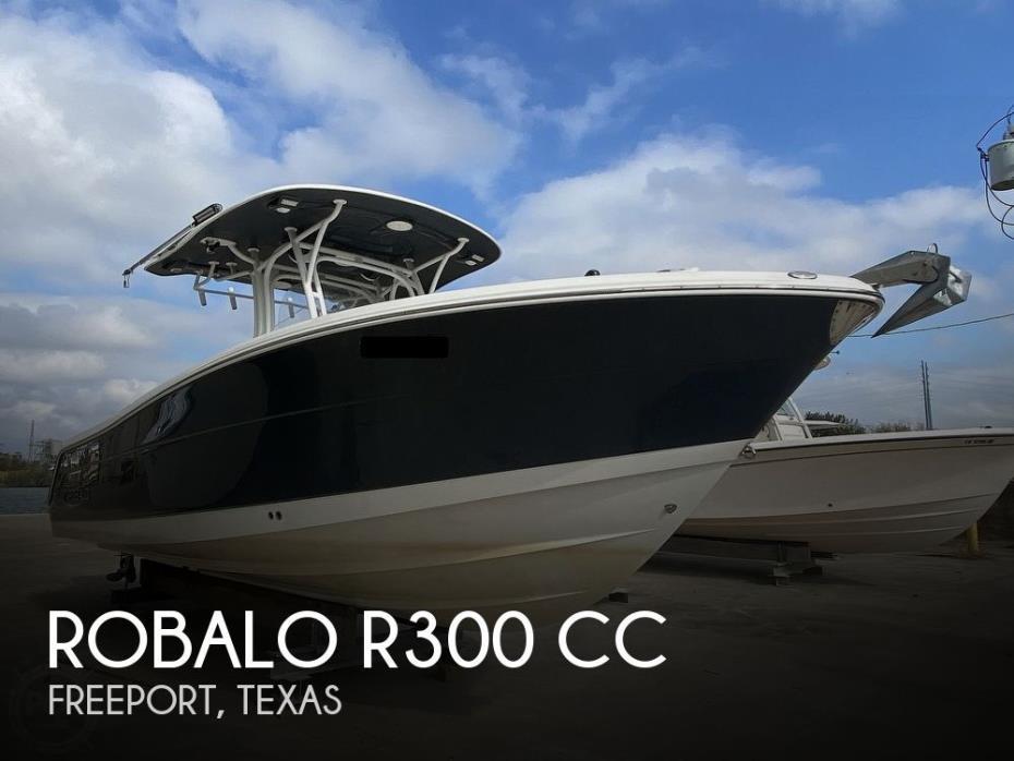 2016 Robalo R300 CC