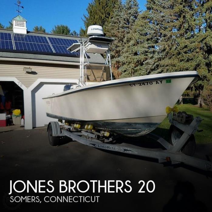 2002 Jones Brothers Cape Fisherman 20