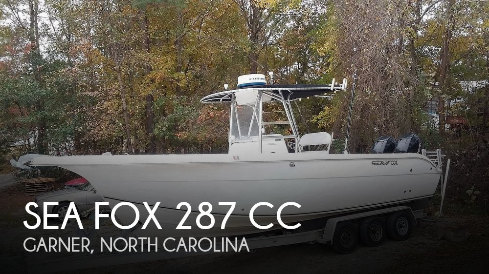2006 Sea Fox 287 CC