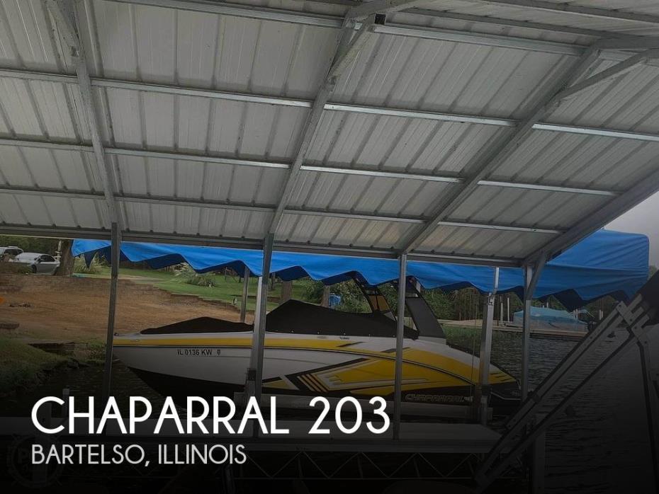 2017 Chaparral Vortex 203