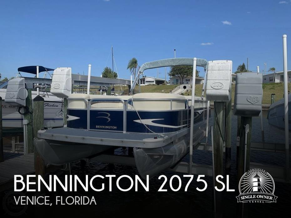 2009 Bennington 2075 SL
