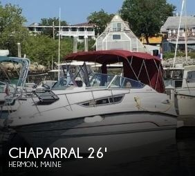 1997 Chaparral 260 Signature