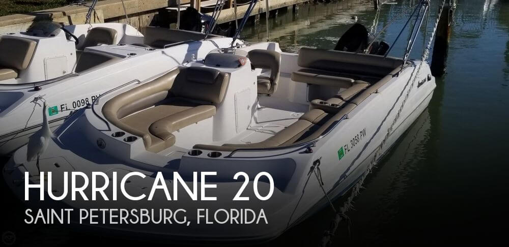 2015 Hurricane 201 Sun Deck