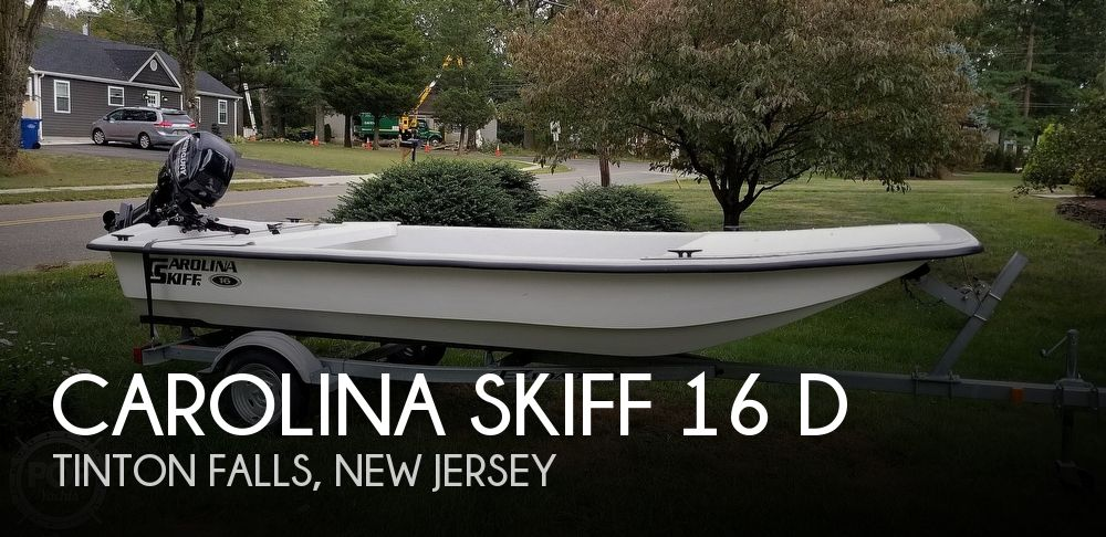 2015 Carolina Skiff J1650