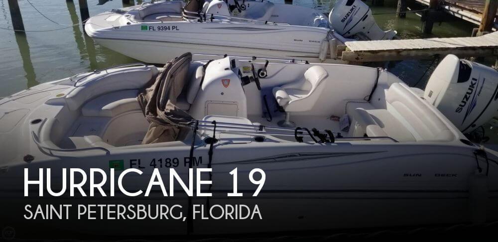 2013 Hurricane 188 Sun Deck Sport