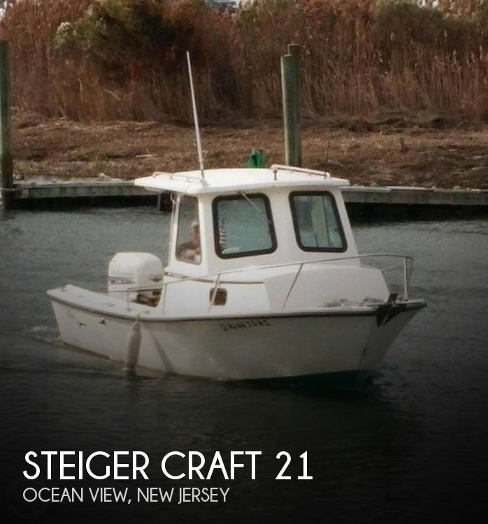2001 Steiger Craft 21 Chesapeake