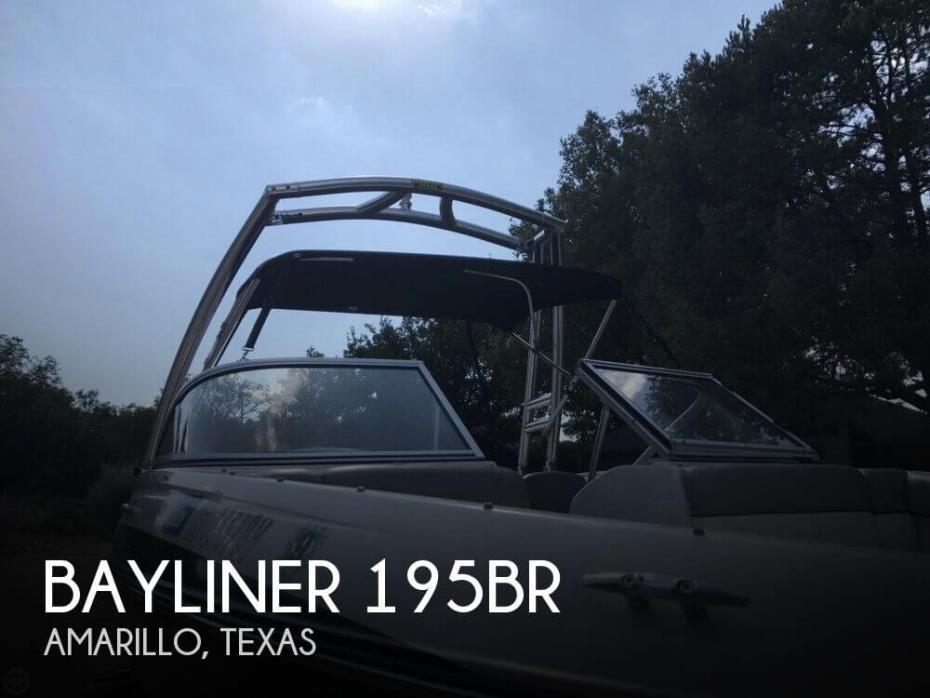 2013 Bayliner 195BR