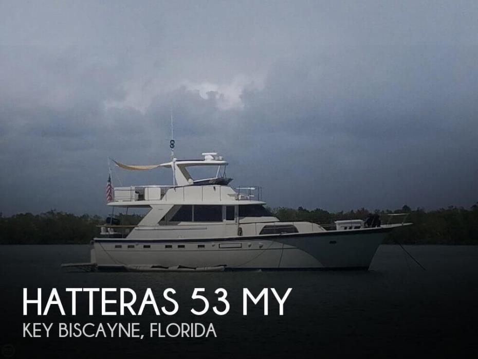 1977 Hatteras 53 MY