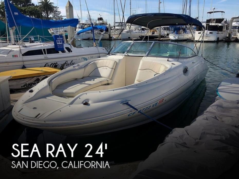2008 Sea Ray 240 Sun Deck