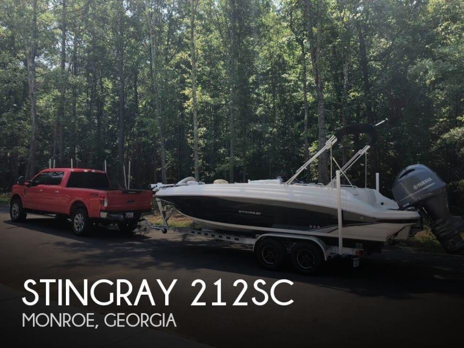 2018 Stingray 212SC