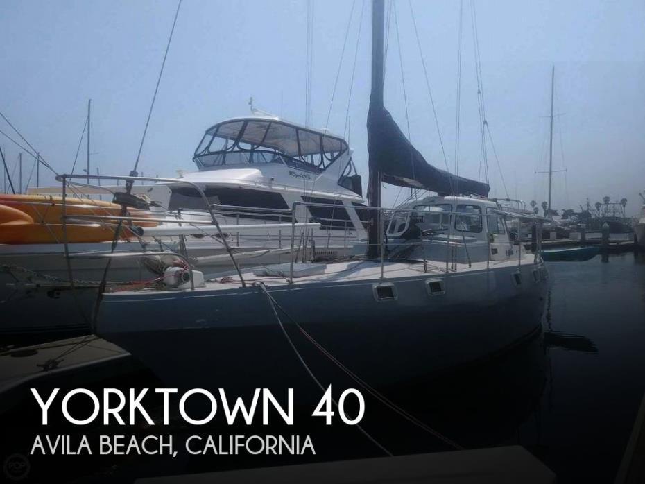 1985 Yorktown 40 Center Cockpit