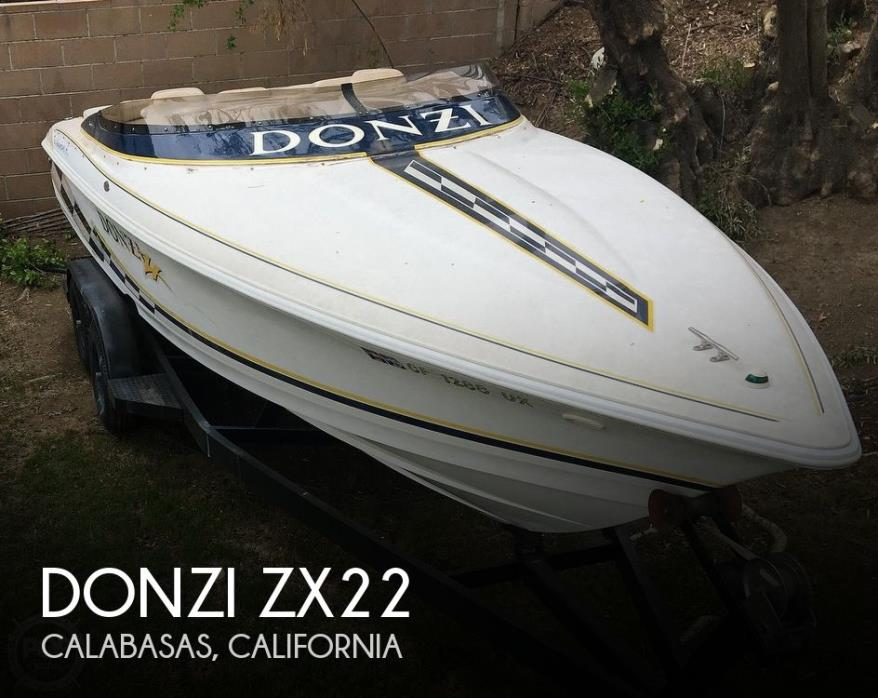 2001 Donzi 22ZX