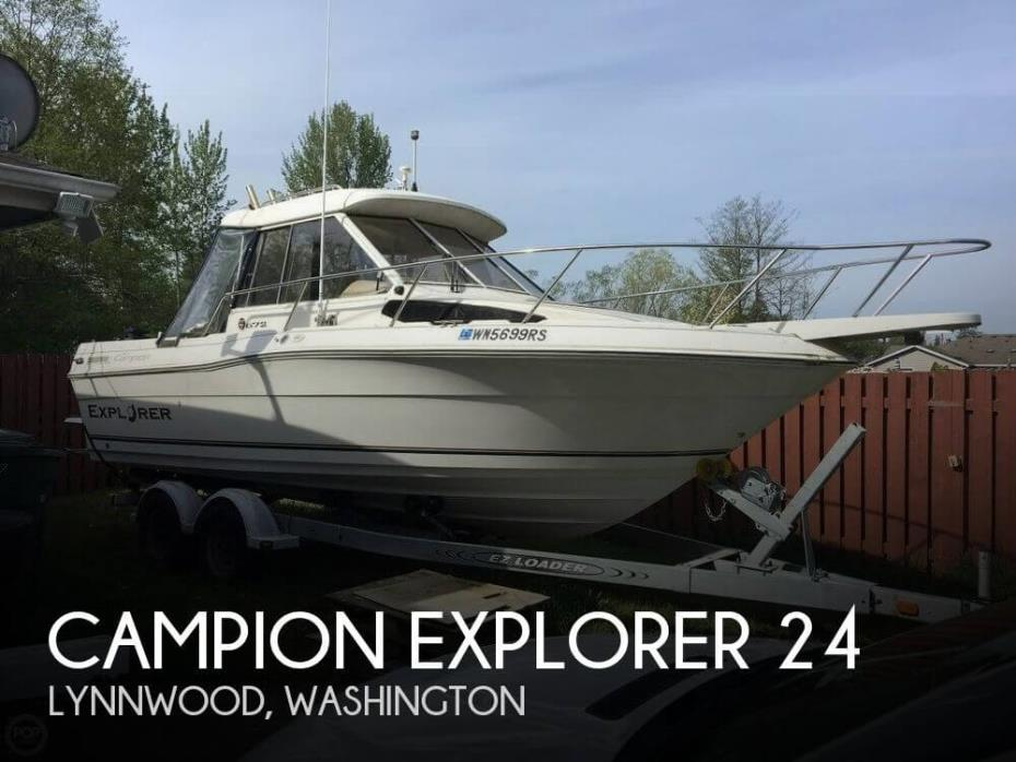 1999 Campion Explorer 672 SLI