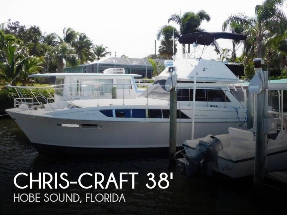 1970 Chris-Craft 38 Commander