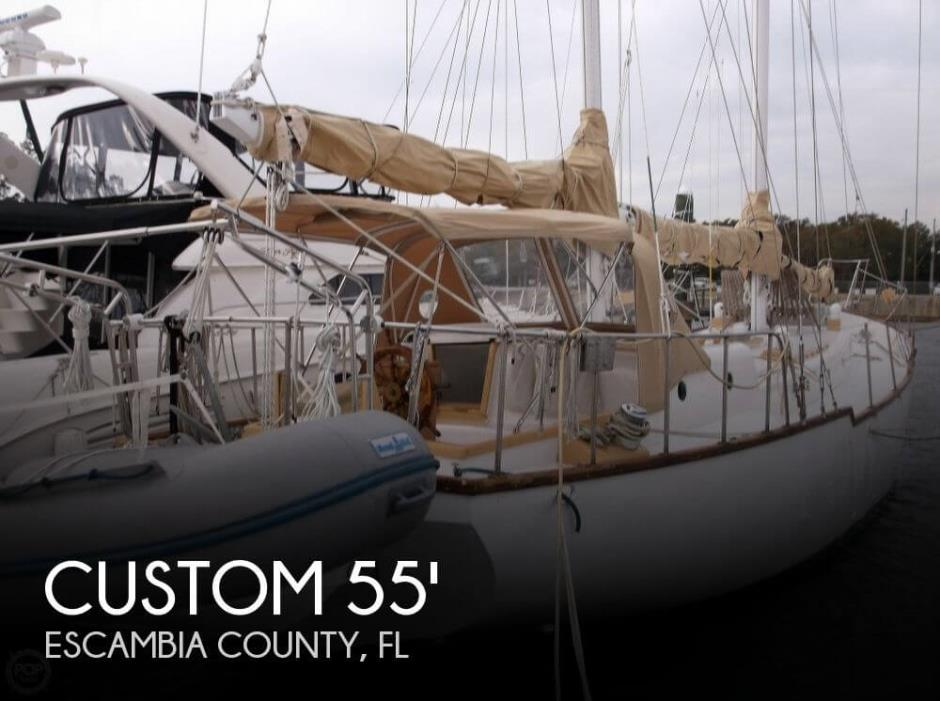 1975 Custom 46 Sampson Design, Howard K. Knox Builder