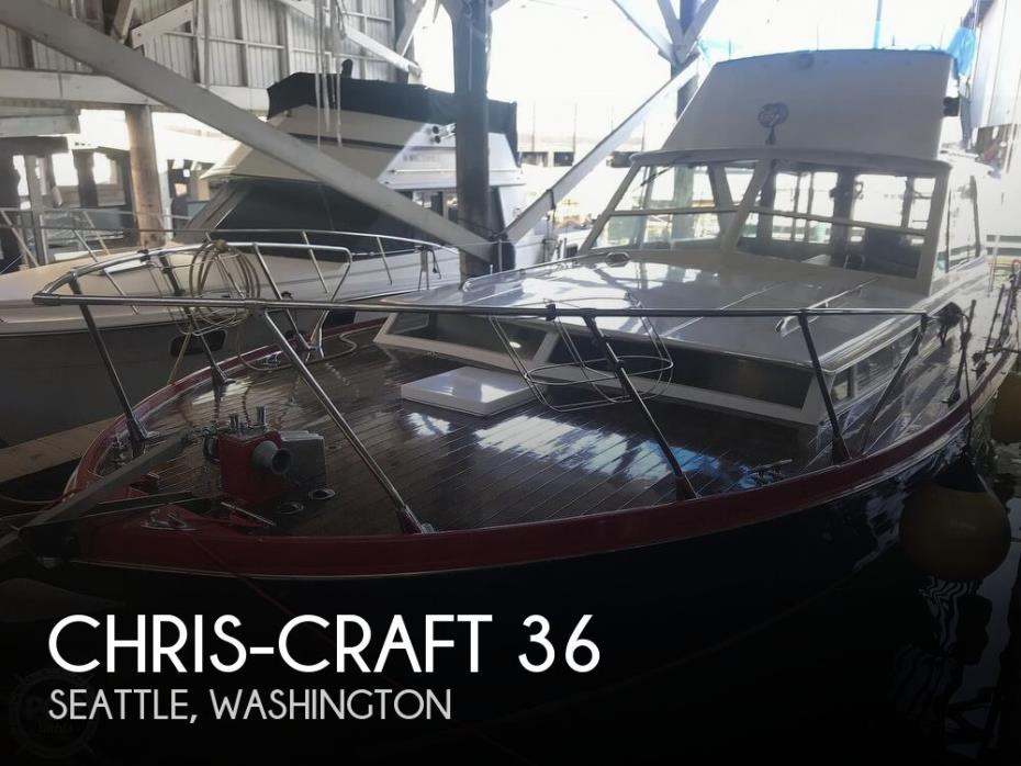 1964 Chris-Craft 38 Sea Hawk Sedan