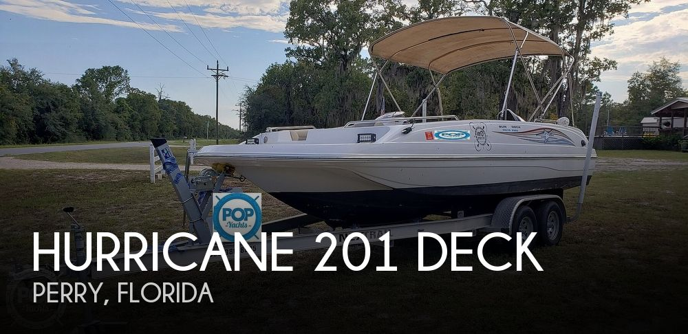 2015 Hurricane 201 Deck