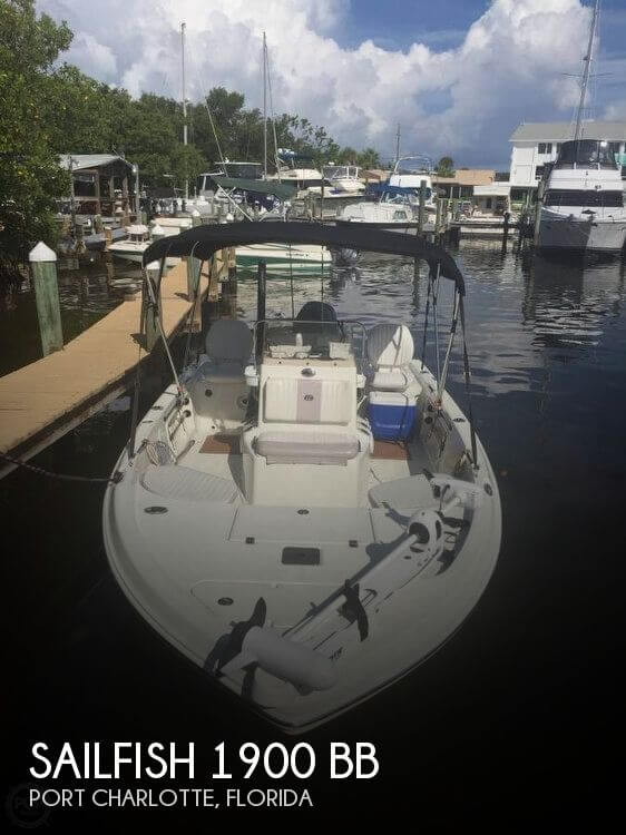 2006 Sailfish 1900 Bay