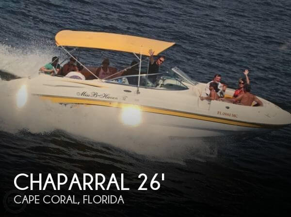 2002 Chaparral 263 Sunesta
