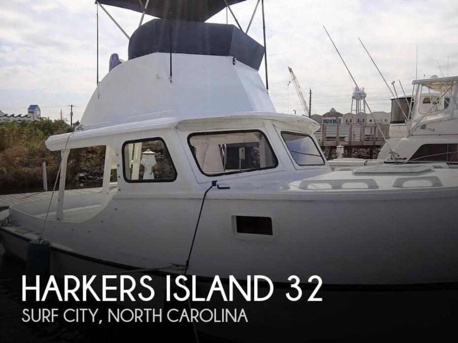 1988 Harkers Island 32 Cruiser Core Sounder