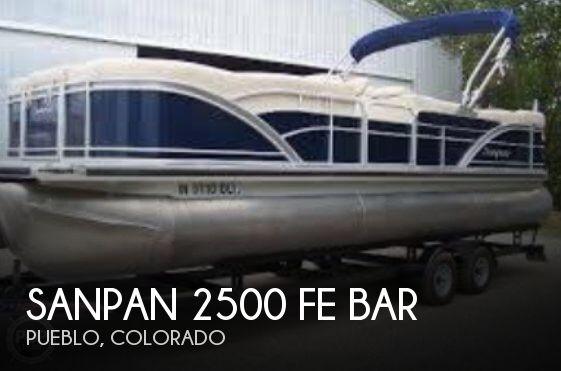 2012 Sanpan 2500 FE Bar