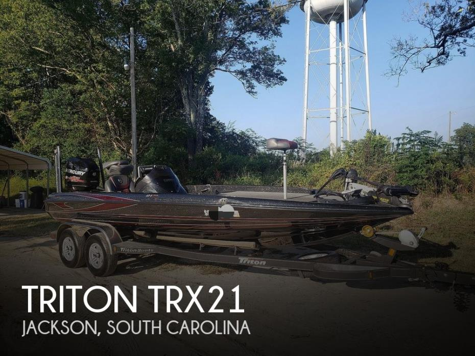 2016 Triton 21 TRX