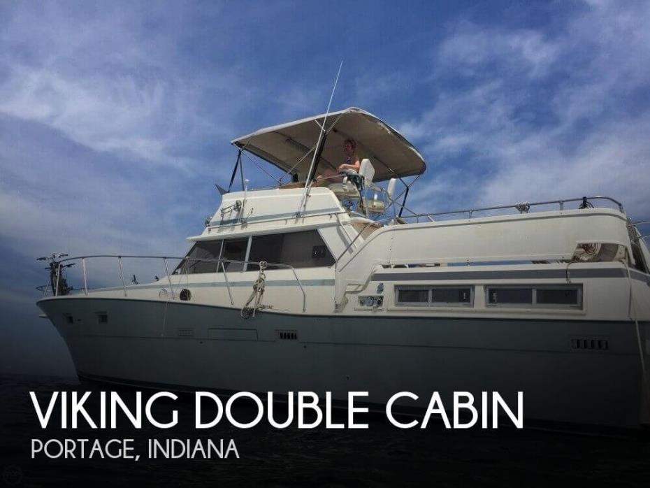 Viking double cabin boats for sale for Viking 43 double cabin motor yacht