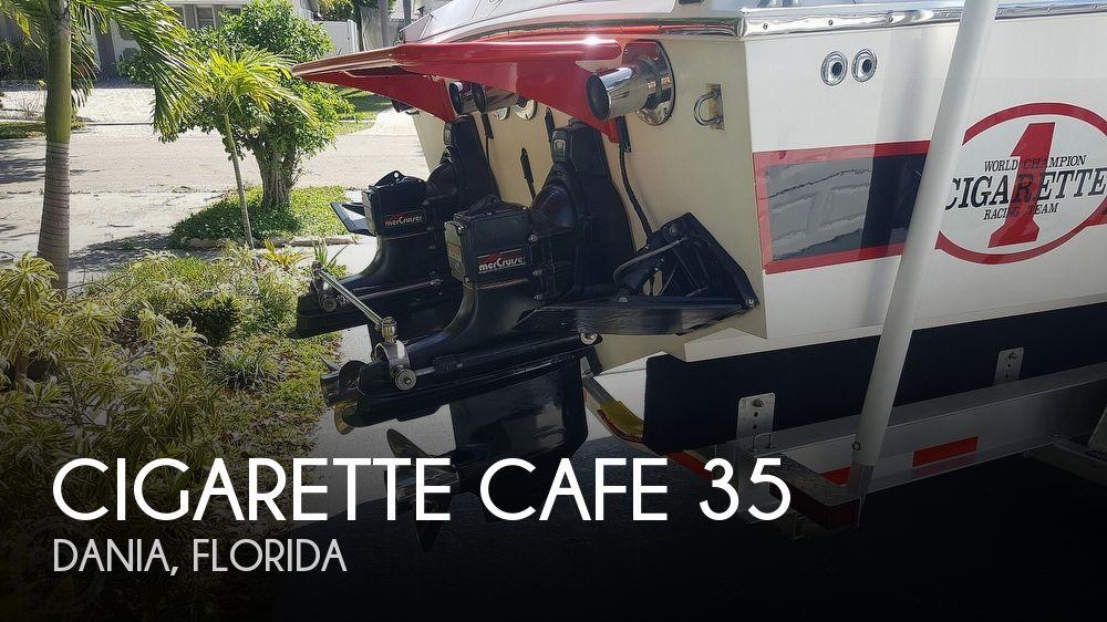 1986 Cigarette 35 Cafe Racer