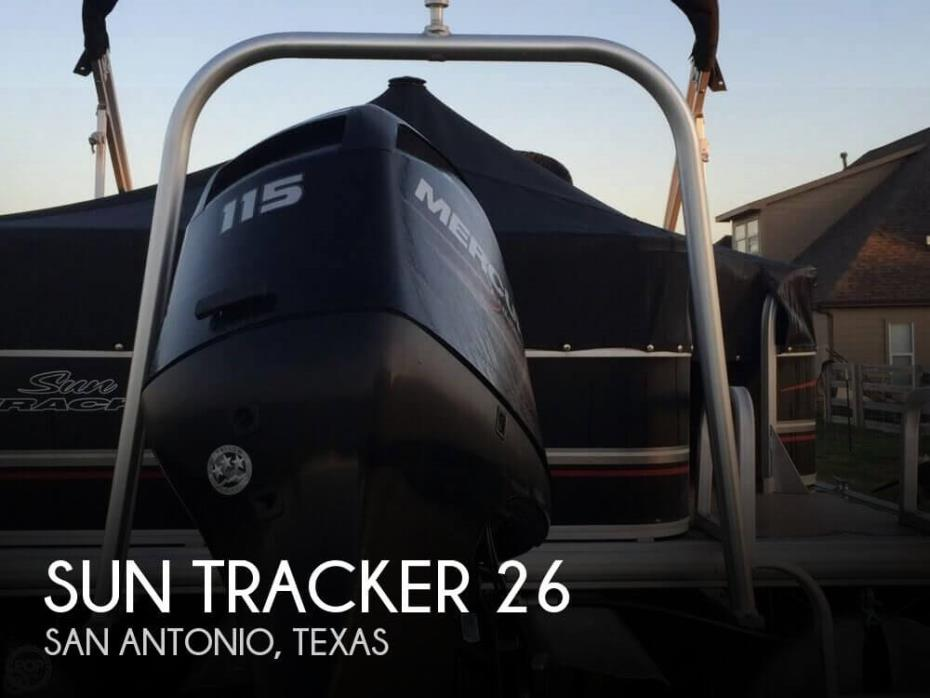 2014 Sun Tracker DELUXE FISHING BARGE