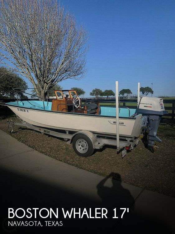 1969 Boston Whaler Nauset 17